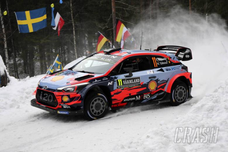 Neuville leads Ogier as Rally Sweden gets underway
