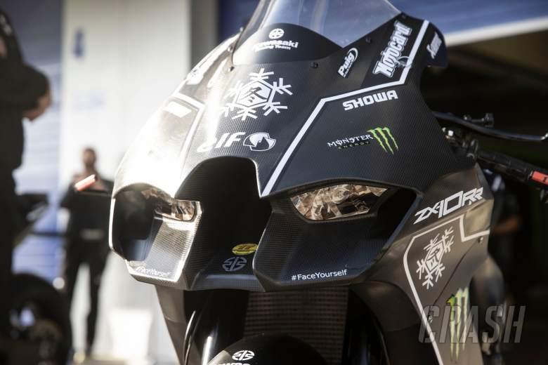 Jonathan Rea 2021 Kawasaki ZX10RR, Jerez test 17th November 2020