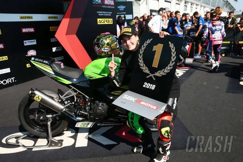 MotoGP stars congratulate first female champion Carrasco