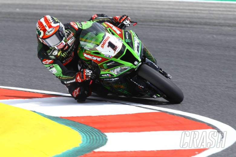 Rea cruises to WorldSBK Portimao win as Redding struggles