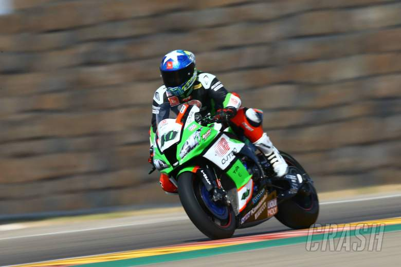 Ex-Moto2 rider Debise joins Pedercini Kawasaki for WorldSBK Catalunya