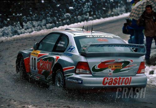 Hyundai optimistic about Accent WRC2 debut.