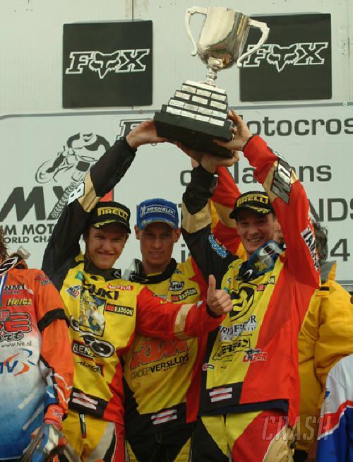 2005 Motocross of Nations entry list.