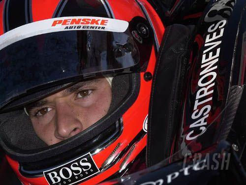 Castroneves eyes pole after leading 'Fast Friday'.