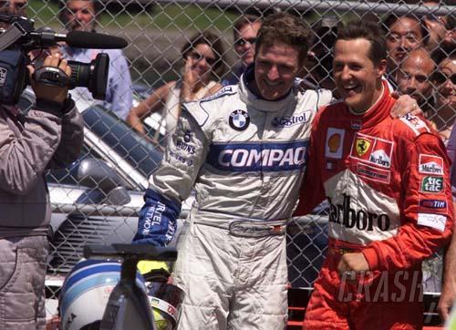 Canadian GP 2001 - Schumacher family affair.