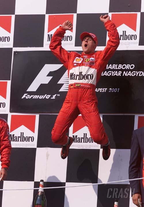 Hungarian GP 2001 - Triple success for Ferrari.