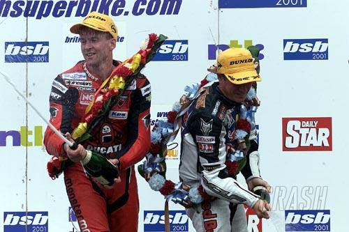 Hislop and Reynolds share wins at Brands Hatch.