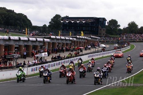 Ducati Monster S4 challenge at Thundersprint 2002.