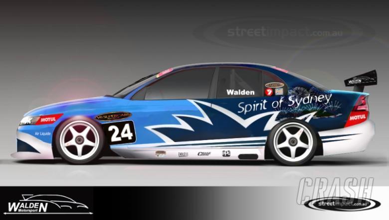 Big task ahead for Walden Motorsport.