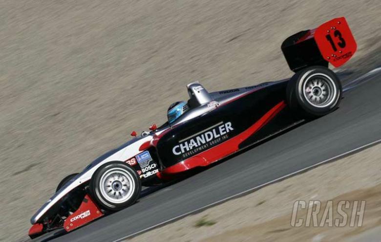 PCM returns to Atlantic scene    IndyCar   News   Crash