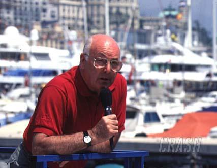 Murray Walker explains decision to retire.