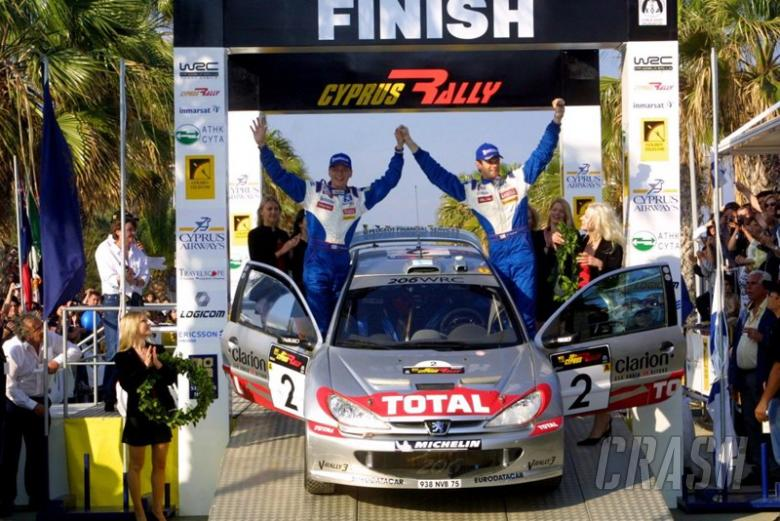 Gronholm takes Cyprus win after McRae blows it.