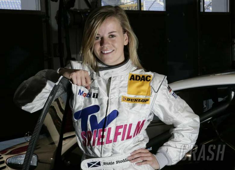 Stoddart: A woman <i>will</i> succeed in F1.