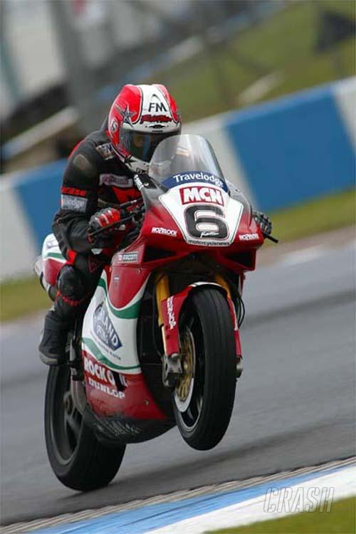 Race results - Donington race two.
