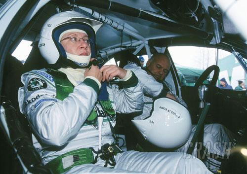 Q&A: Ana Goni - Stig Blomqvist's co-driver.