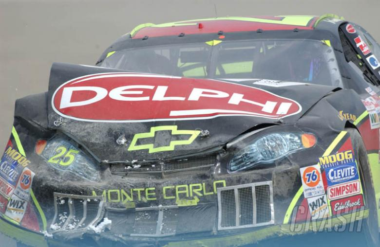 Waltrip: Contact is out of control.