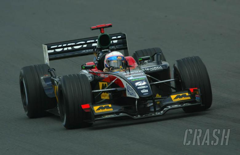 Gazprom signs sponsor deal with Minardi.