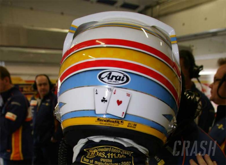 Alonso wants rest to 'chase the ace'.