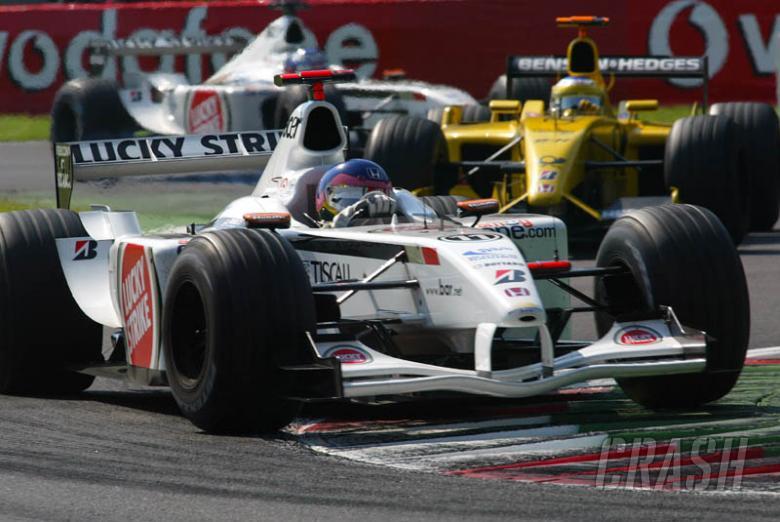 Jacques Villeneuve's lap of Monza.