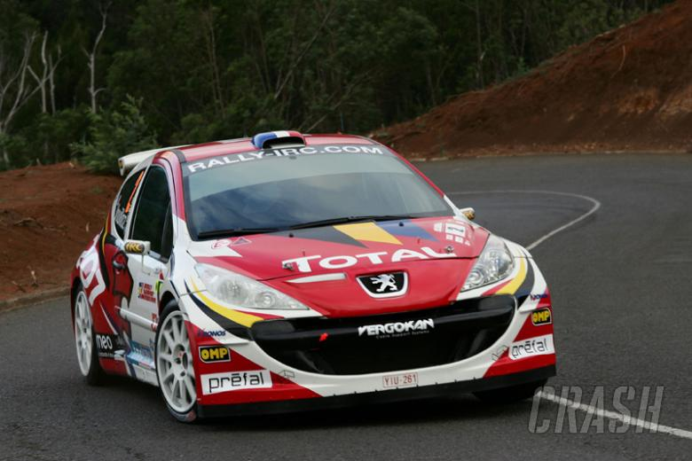 IRC: Peugeot wins manufacturers' title.