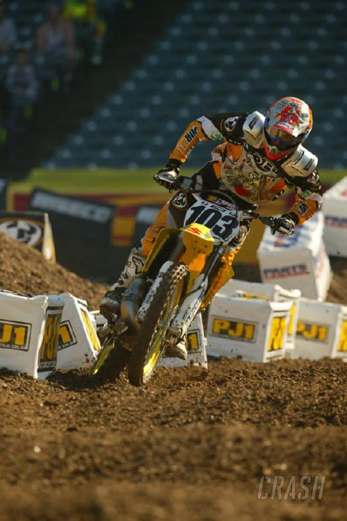 Tortelli out of 2004 AMA Supercross.