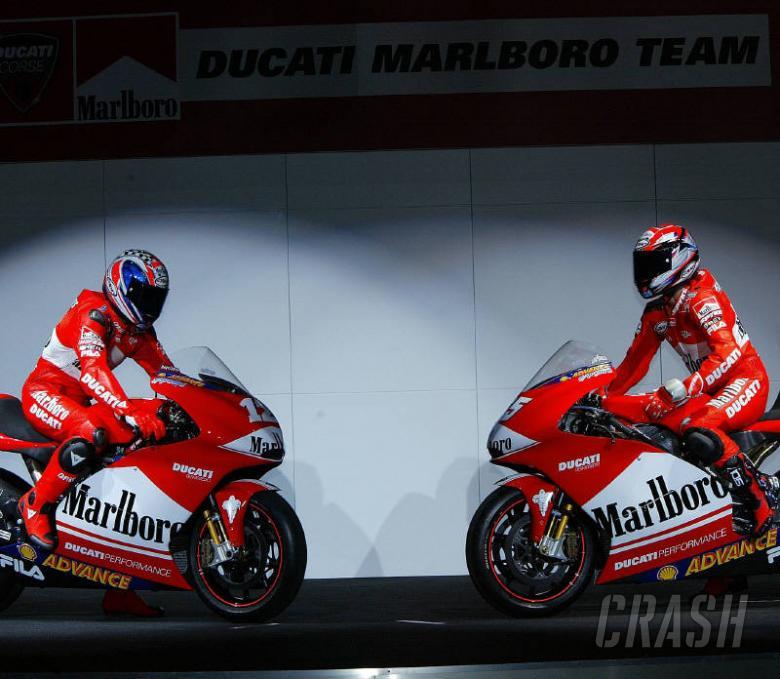 Marlboro Ducati breaks cover!