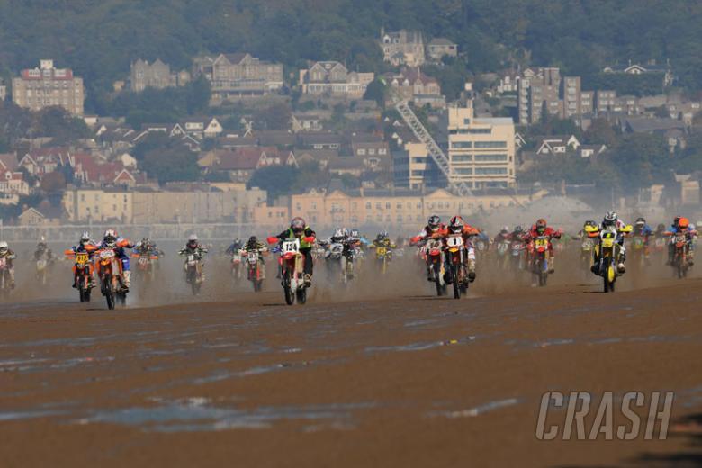 Everts wins Weston Beach Race.