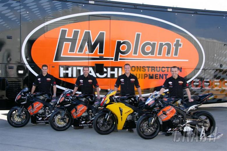 HM Plant confirms Richards, Brookes    British Superbikes   News