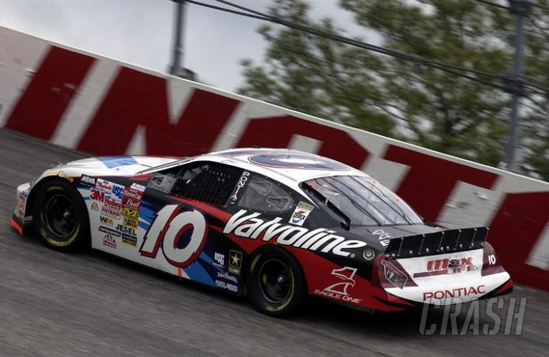 Early wreck puts Benson out again at Talladega.