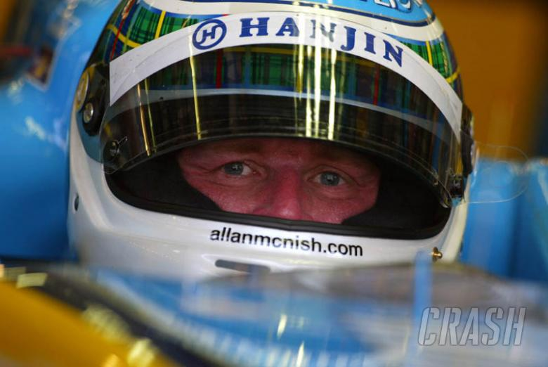 McNish: Feel the ghosts.