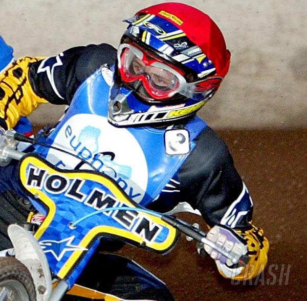 Davidsson voted rider of the year.