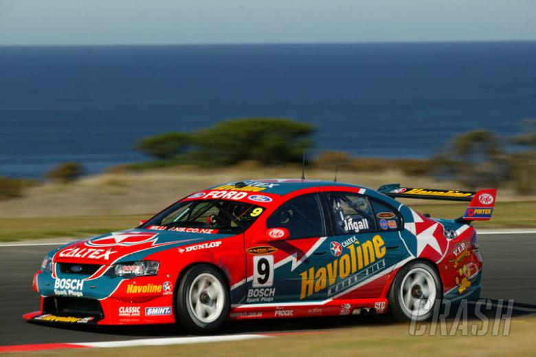Race result - race two: Surfers Paradise.