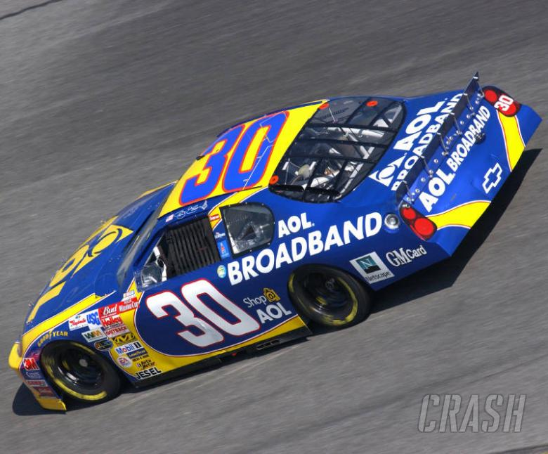 Sauter to drive #30 AOL Chevrolet in 2004.
