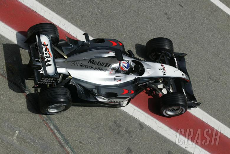 McLaren ready to launch early assault on 2004.