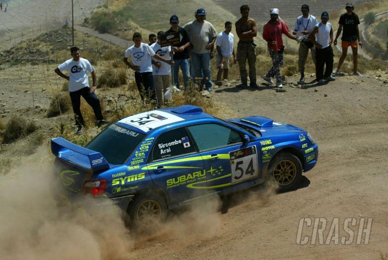 Rowe builds Production Car WRC lead for Subaru.