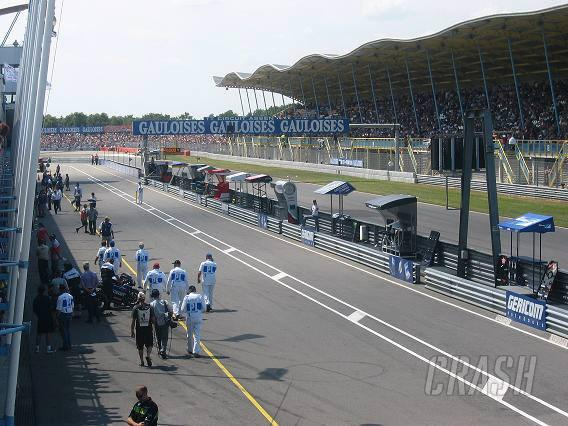 Three wide grid and 'ride through' for 2004.