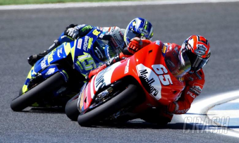 Picture: Sete stung by Ducati power.