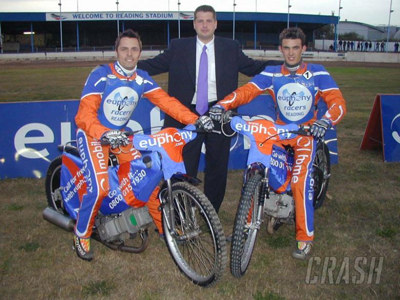 Morris and Appleton benefit from sponsorship.