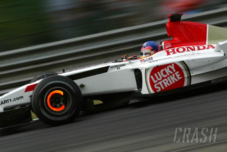 Villeneuve: I'm not begging to stay with BAR.