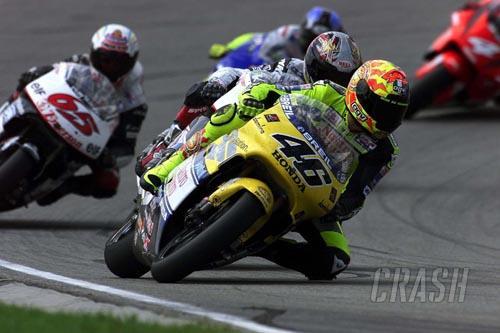 Q&A: Valentino Rossi.