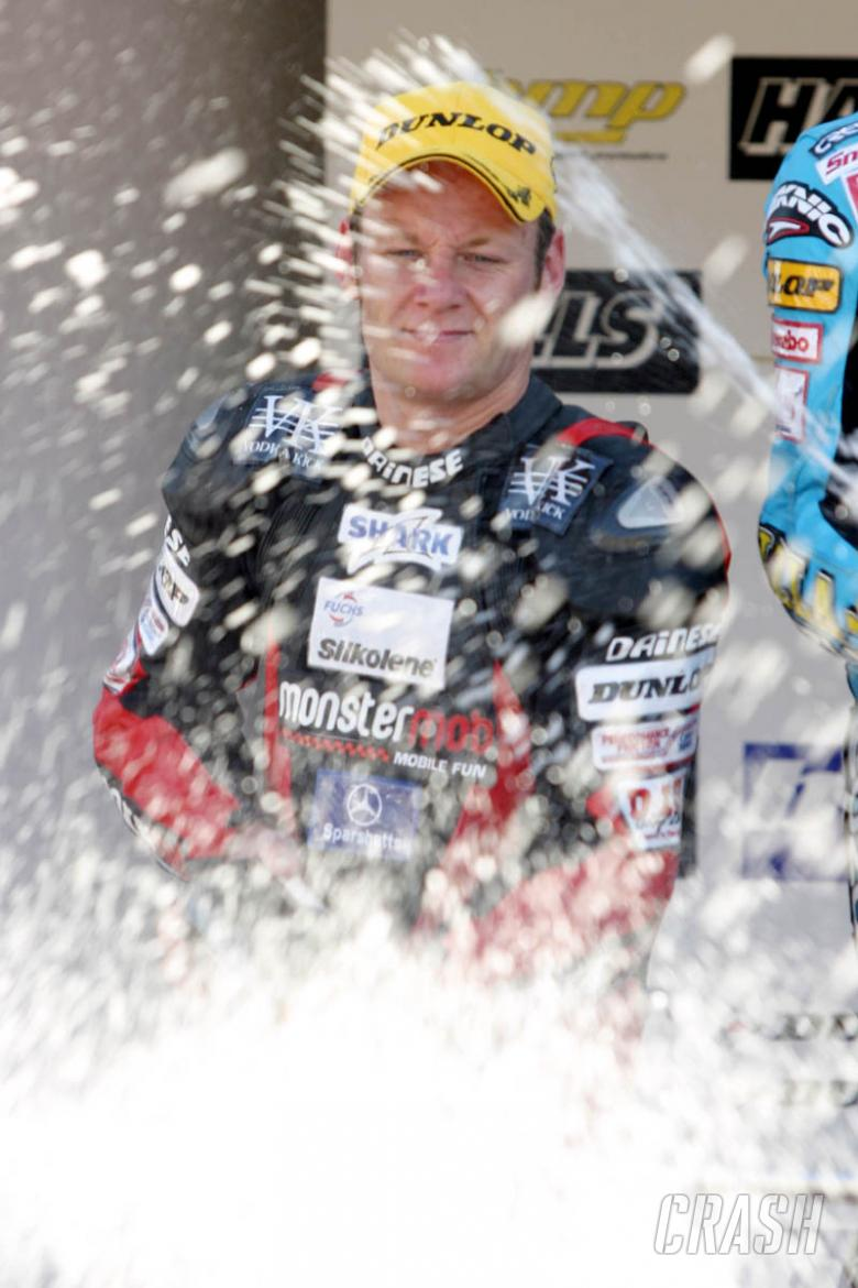 Byrne made to earn Donington victories.