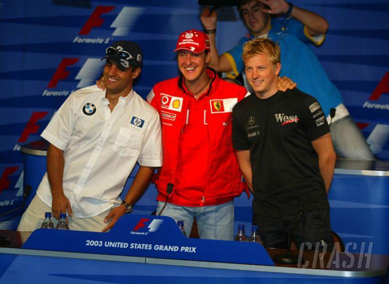 Thursday press conference - US GP - Pt. 1.