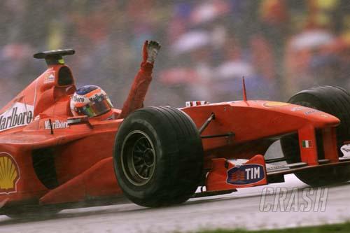 Remembering... Barrichello's day in the rain
