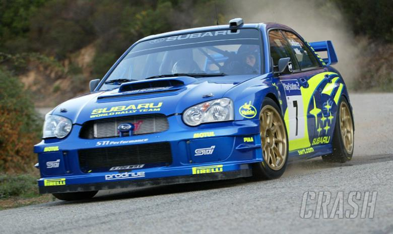 Solberg's great come back to win in Corsica.