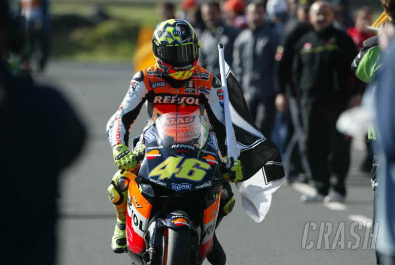 'F*** what happened?' - Rossi on penalty.