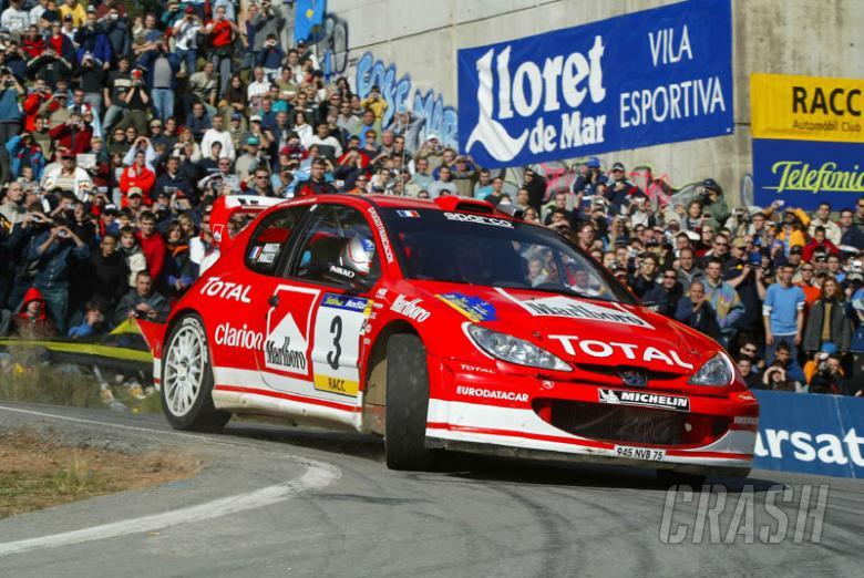 Panizzi wins in Catalunya for Peugeot.