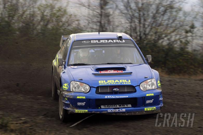Solberg maintains perfect start to leg 2.