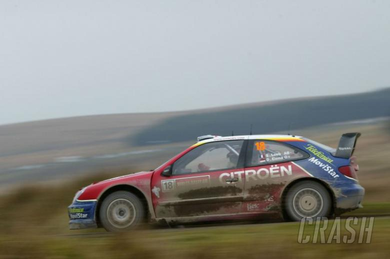 Citroen-Michelin and Solberg take 2003 WRC titles.