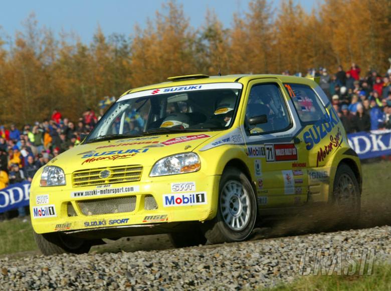 Suzuki announces 2004 JWRC line-up.