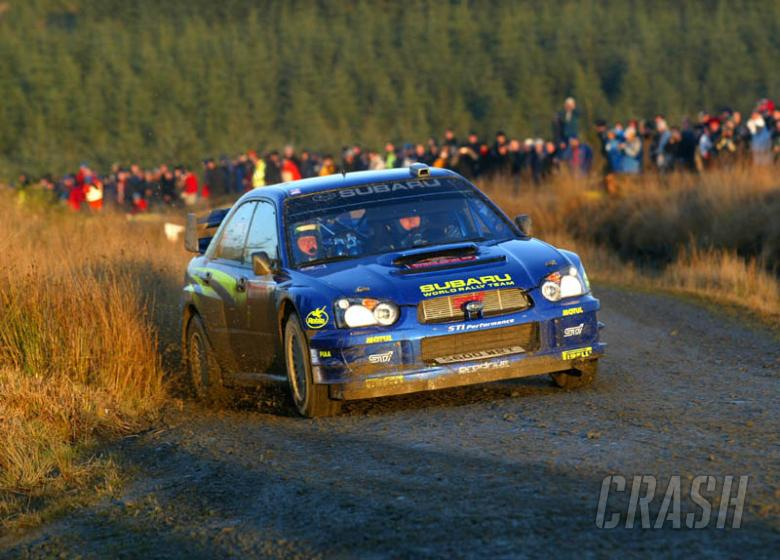 ITV to show WRC in UK in 2004.